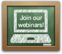 Join our webinars