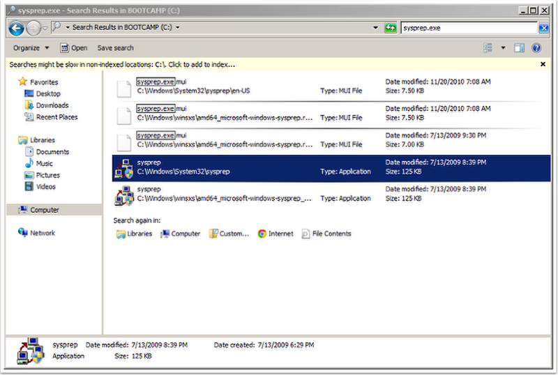Migrating a Bootcamp Partition with Winclone – Twocanoes Support