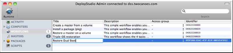Rename Workflow.