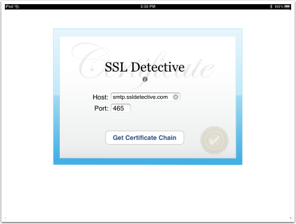 Troubleshooting Certificate and Certificate Chains | Twocanoes Software