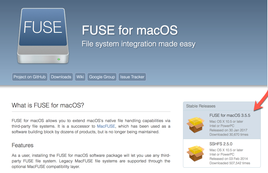 Install Fuse For MacOS For Boot Camp Read-Write Access | Twocanoes