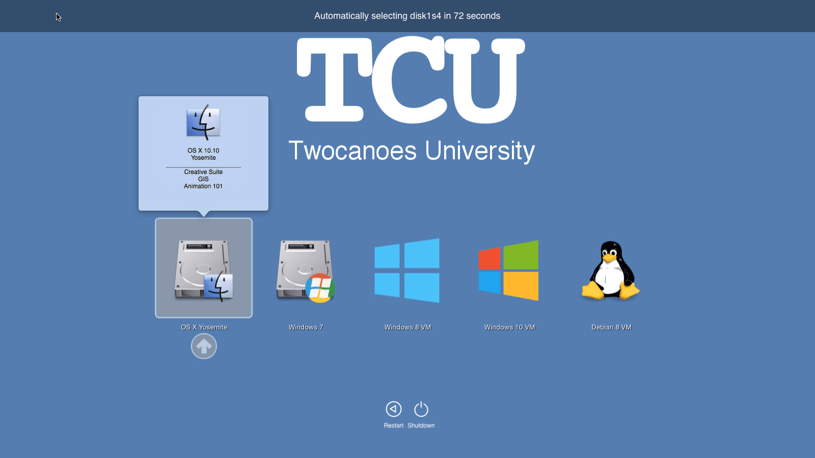 Twocanoes Releases Boot Runner 2.3 with OS X El Capitan Compatibility Image